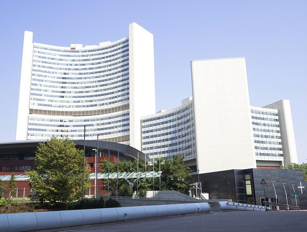 UN Headquarters, Vienna International Centre, Danube City, Vienna, Austria, Europe - 667-2574
