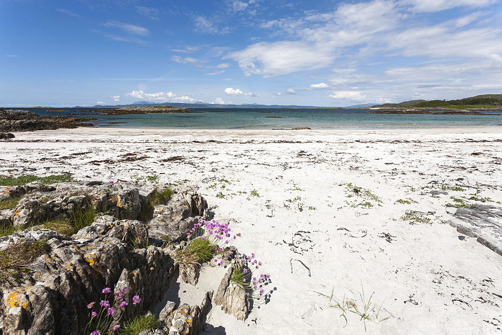 Silver Sands of Morar, The Highlands, Scotland, United Kingdom, Europe - 667-2591