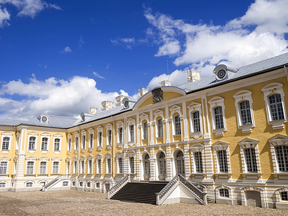 Rundale Palace, Latvia, Baltic States, Europe