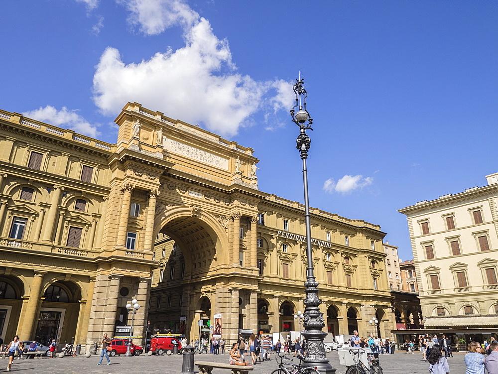 Piazza della Repubblica, Florence, Tuscany, Italy, Europe - 667-2653