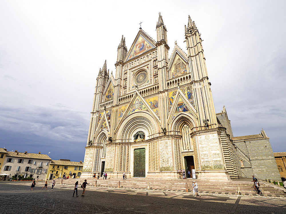 Cathedral, Orvieto, Umbria, Italy, Europe - 667-2676