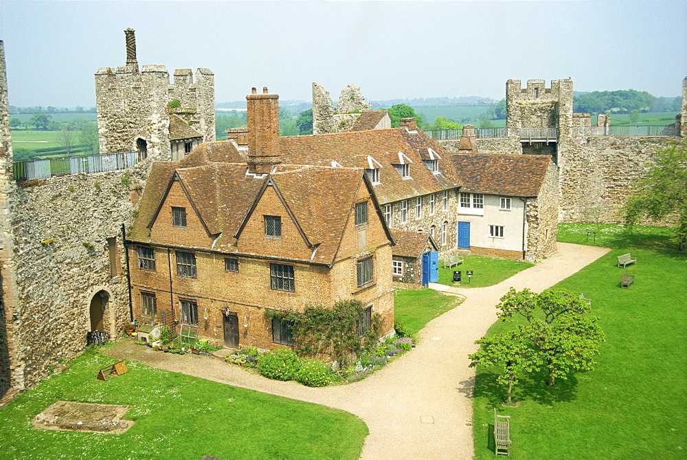 Castle, Framlingham, Suffolk, England, United Kingdom, Europe