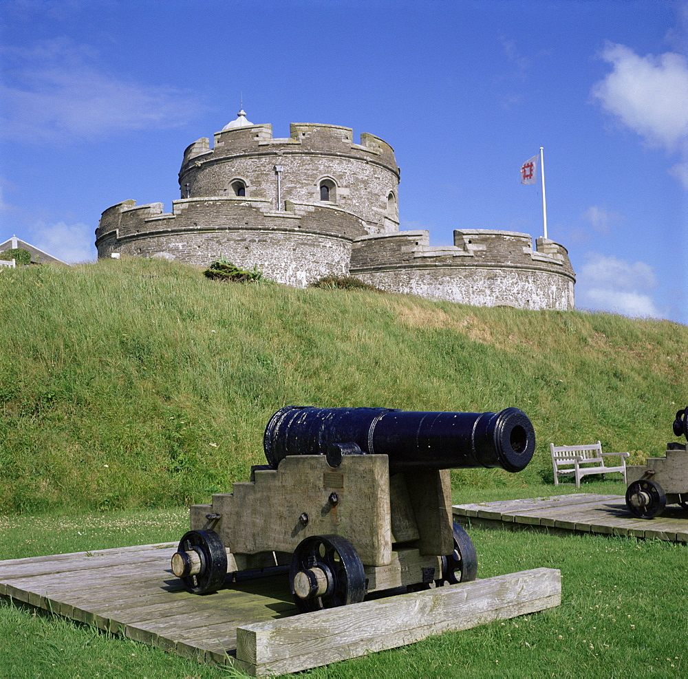 St. Mawes Castle, Cornwall, England, United Kingdom, Europe