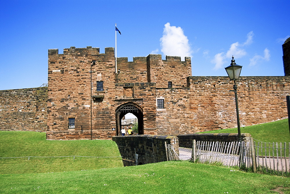 Gatehouse, Carlisle Castle, Carlisle, Cumbria, England, United Kingdom, Europe