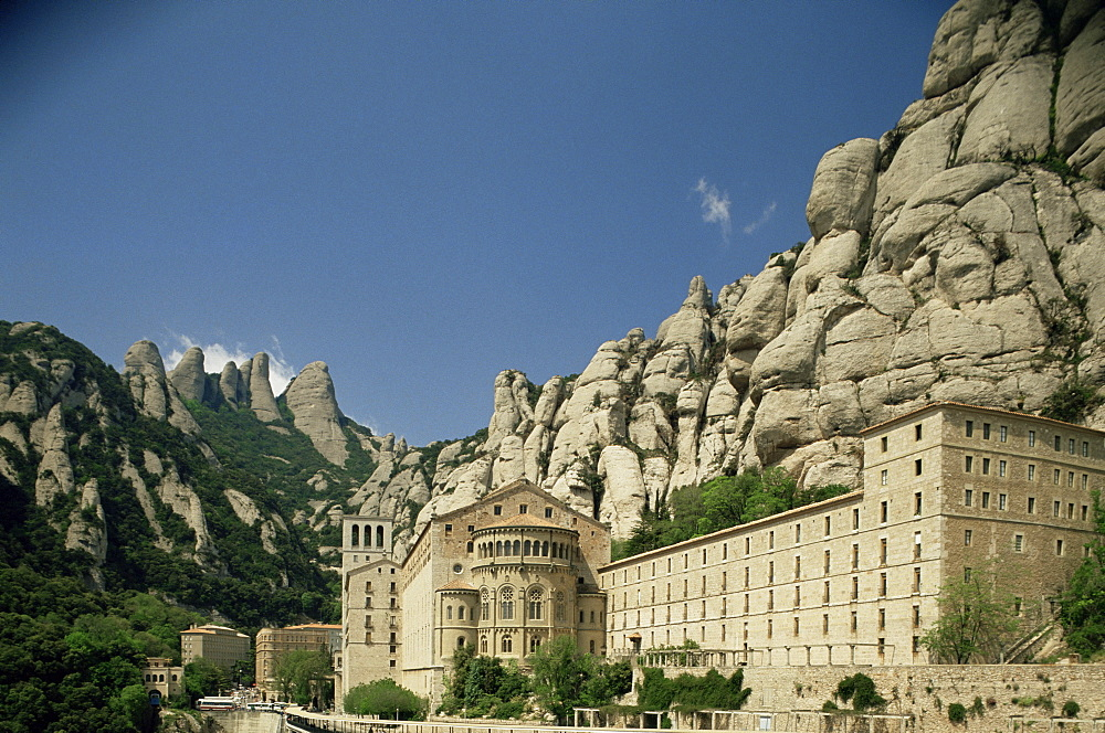 Monastery of Montserrat, near Barcelona, Catalonia, Spain, Europe