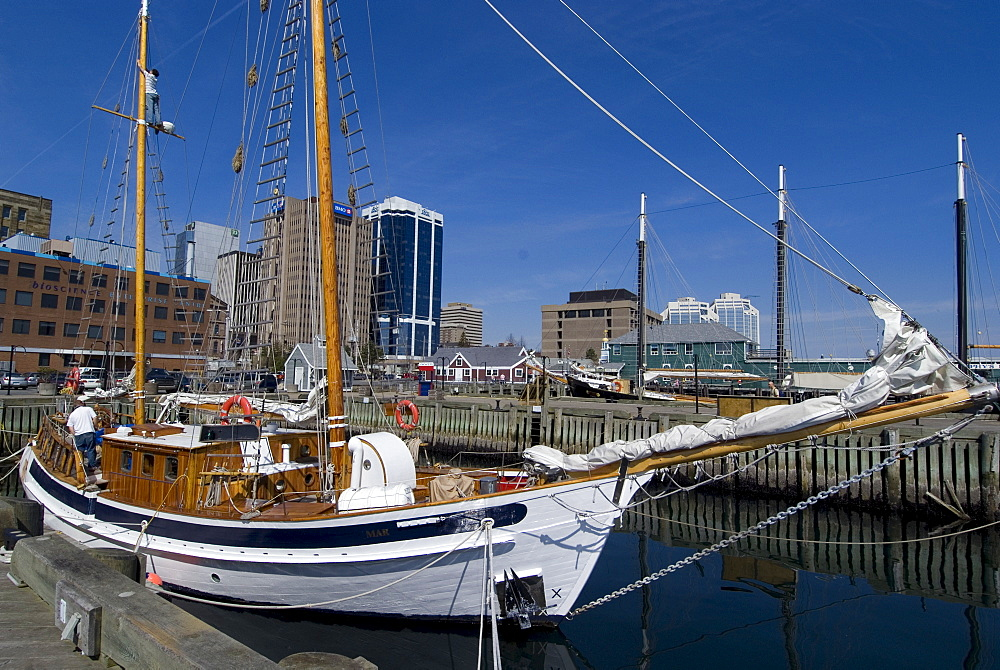 Harbour Walk, Halifax, Nova Scotia, Canada, North America