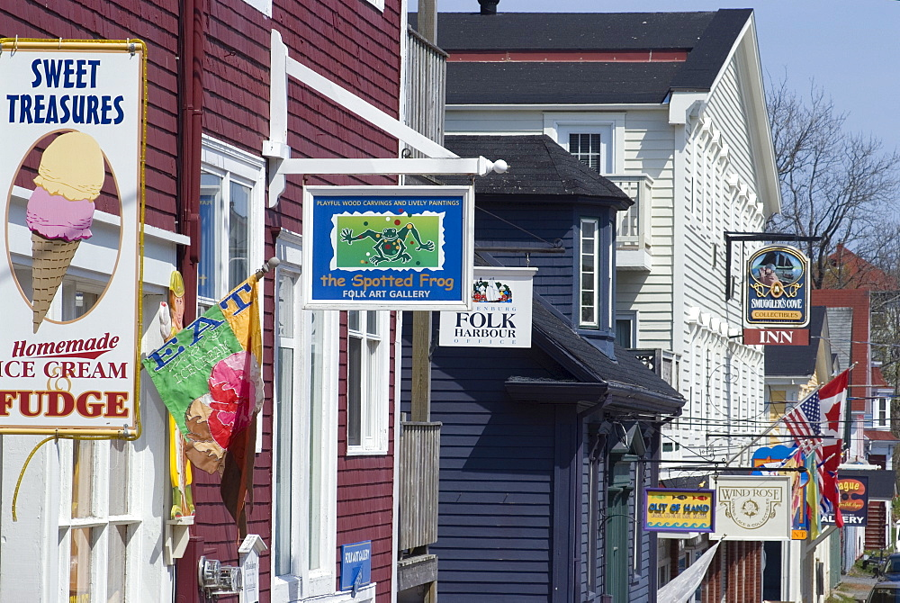Lunenburg, UNESCO World Heritage Site, Nova Scotia, Canada, North America