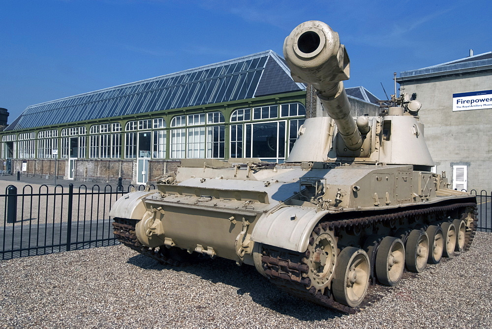 Tank, Woolwich Arsenal Military Museum, London, SE18, England, United Kingdom, Europe