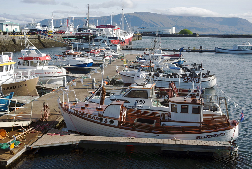 The Old Harbour, Reykjavik, Iceland, Polar Regions
