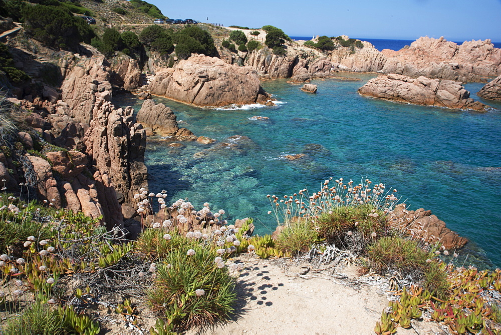 The sea at Costa Paradiso, Sardinia, Italy, Mediterranean, Europe - 685-2604