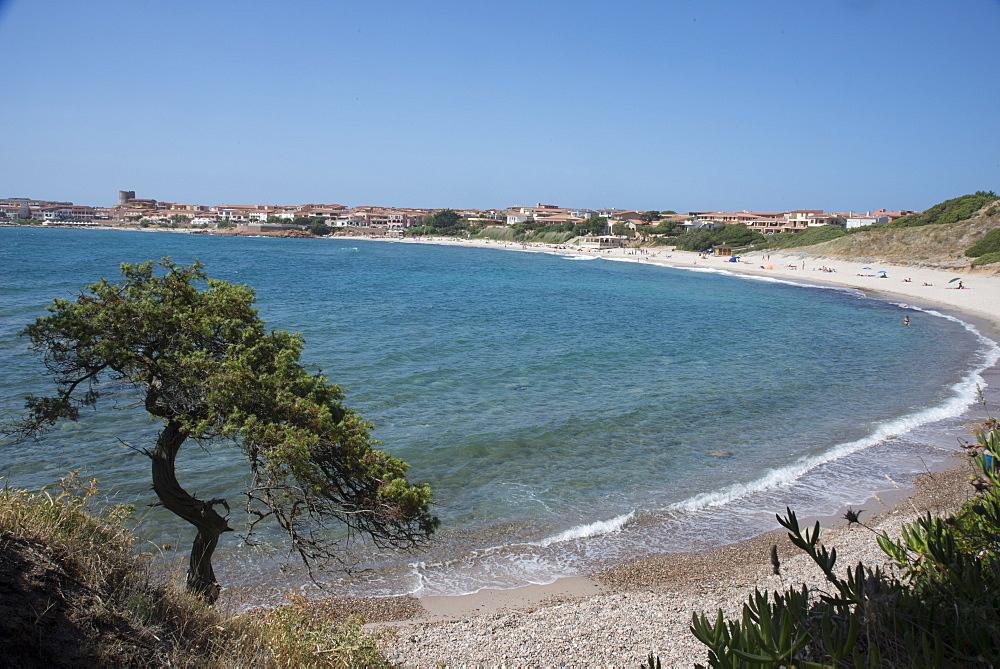 The fishing village, resort and beach of Isola Rossa, Sardinia, Italy, Mediterranean, Europe - 685-2607
