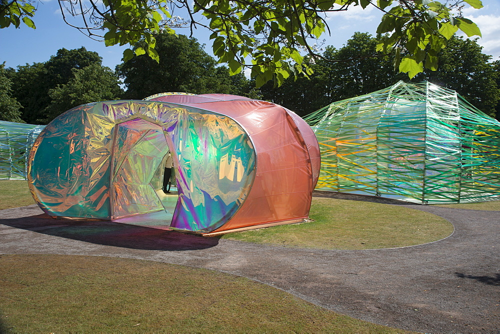 The 2015 Pavilion at the Serpentine Gallery, designed by Selgascano, London, W2, England, United Kingdom, Europe - 685-2619