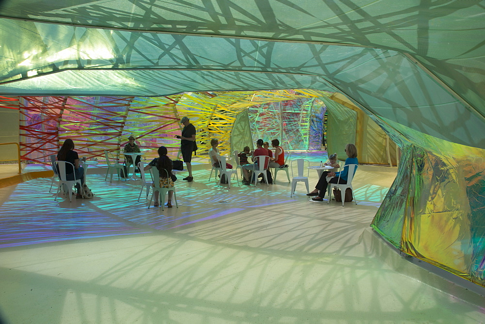 The 2015 Pavilion at the Serpentine Gallery, designed by Selgascano, London, W2, England, United Kingdom, Europe - 685-2623