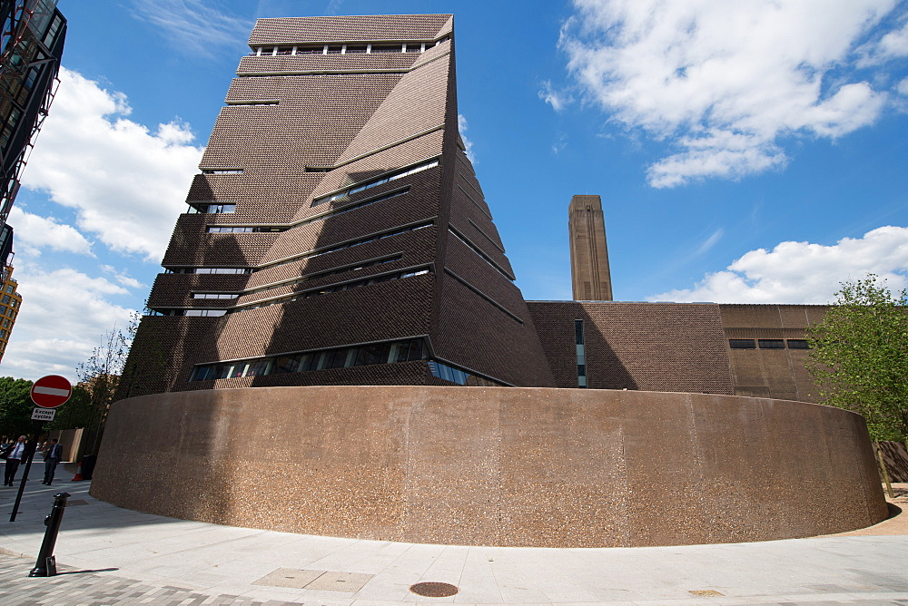 The new Tate Modern Annex, designed by Herzog and de Meuron, Southwark, London, SE1, England, United Kingdom, Europe - 685-2657
