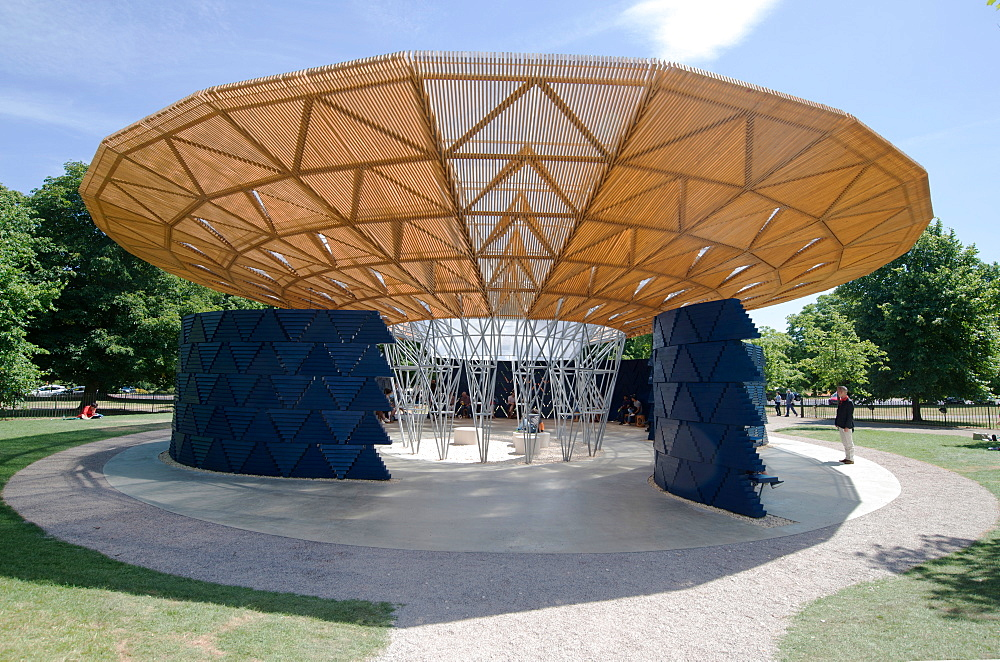 The 2017 Serpentine Gallery Pavilion, designed by Francis Kere, London, W2, England, United Kingdom, Europe