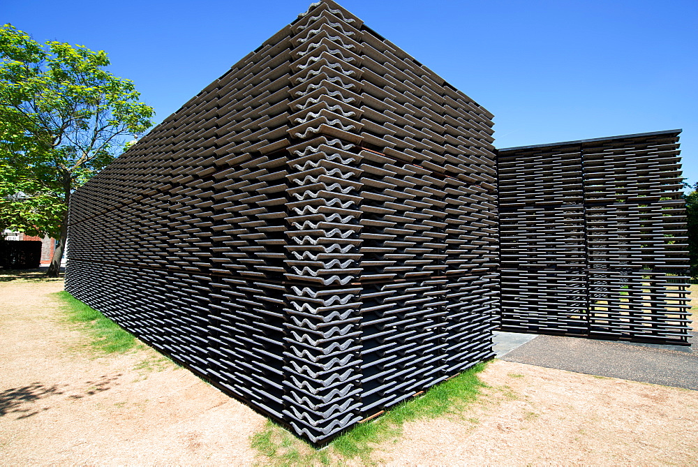 The 2018 Paviliion at the Serpentine Gallery, designed by Frida Escobedo, London, W2, England - 685-2694