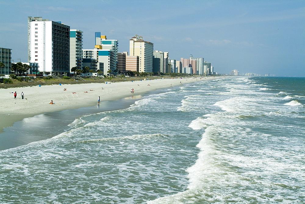 Seashore, Myrtle Beach, South Carolina, United States of America, North America