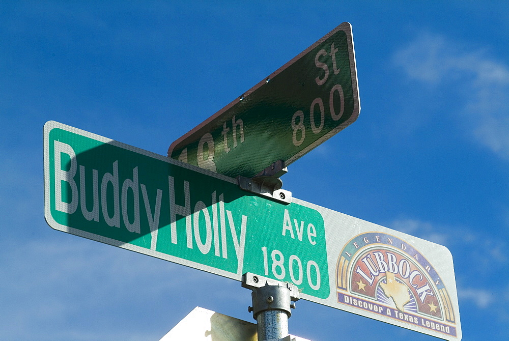 Buddy Holly Avenue, Lubbock, Texas, United States of America, North America