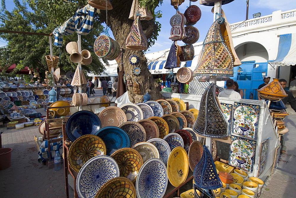 Market, Houmt-Souk, Island of Jerba, Tunisia, North Africa, Africa