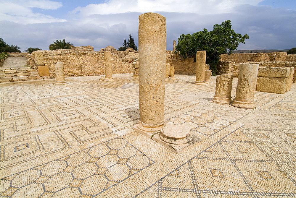 Ancient Roman city of Sufetula, Sbeitla, Tunisia, North Africa, Africa