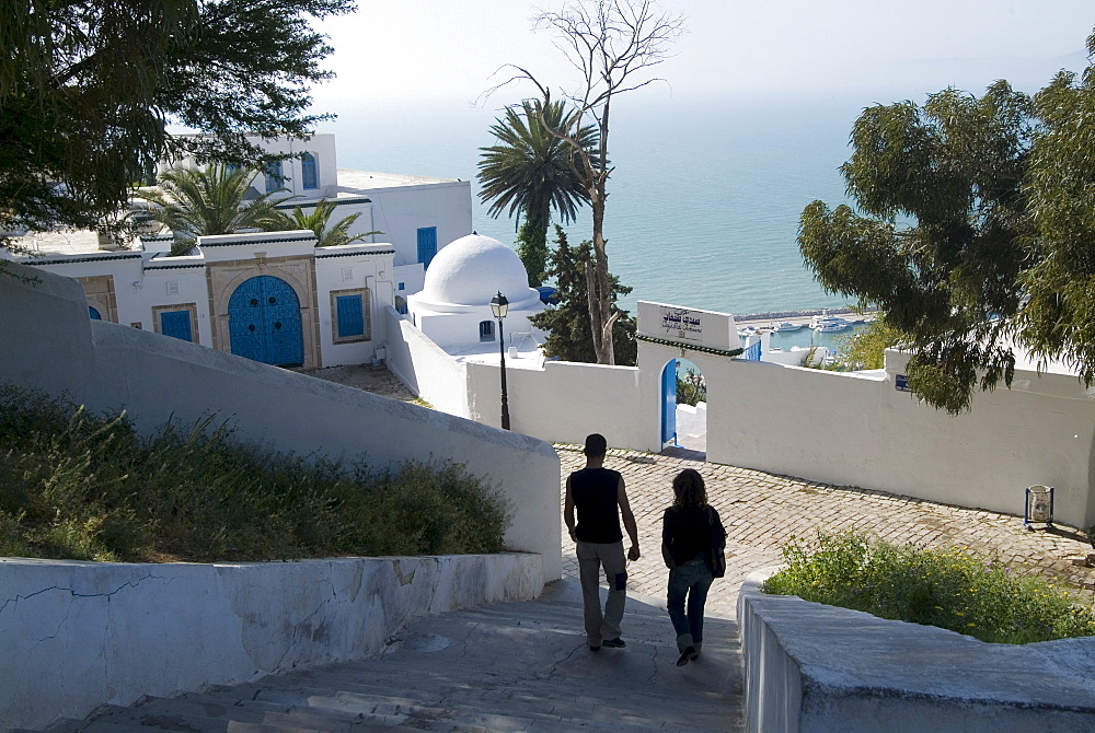 Sidi Bou Said, Tunisia, North Africa, Africa