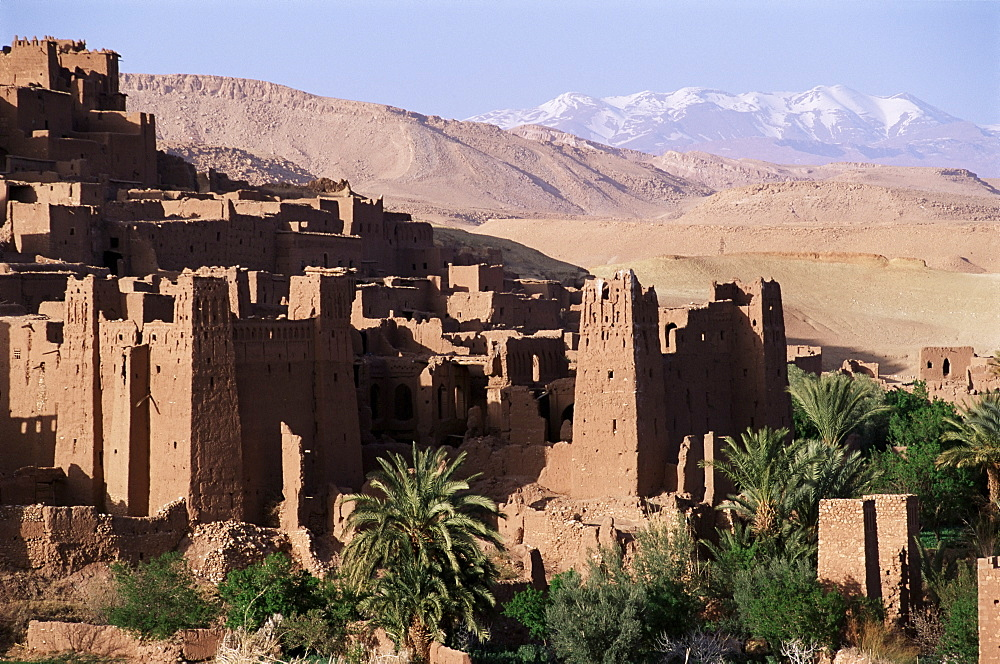 Kasbah, southern area, Morocco, North Africa, Africa