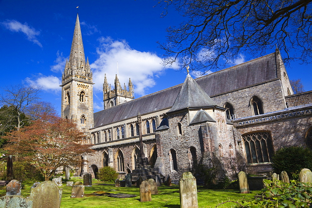 Llandaff Cathedral, Llandaff, Cardiff, Wales, United Kingdom, Europe
