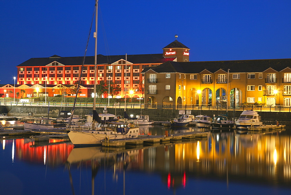 Swansea Marina, Swansea, South Wales, Wales, United Kingdom, Europe