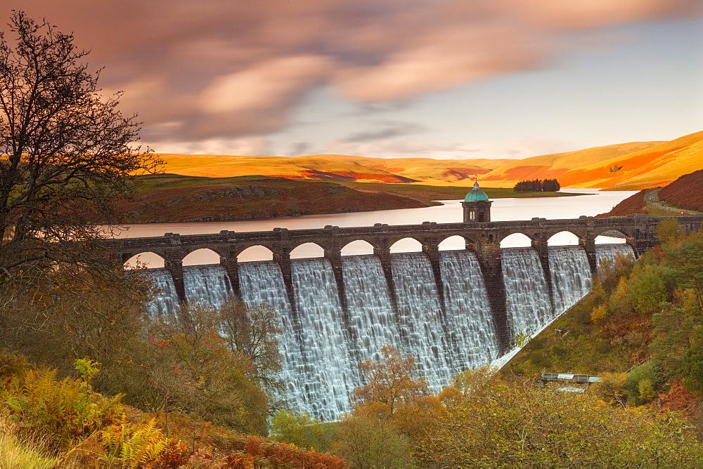Craig Goch Dam, Elan Valley, Powys, Mid Wales, United Kingdom, Europe