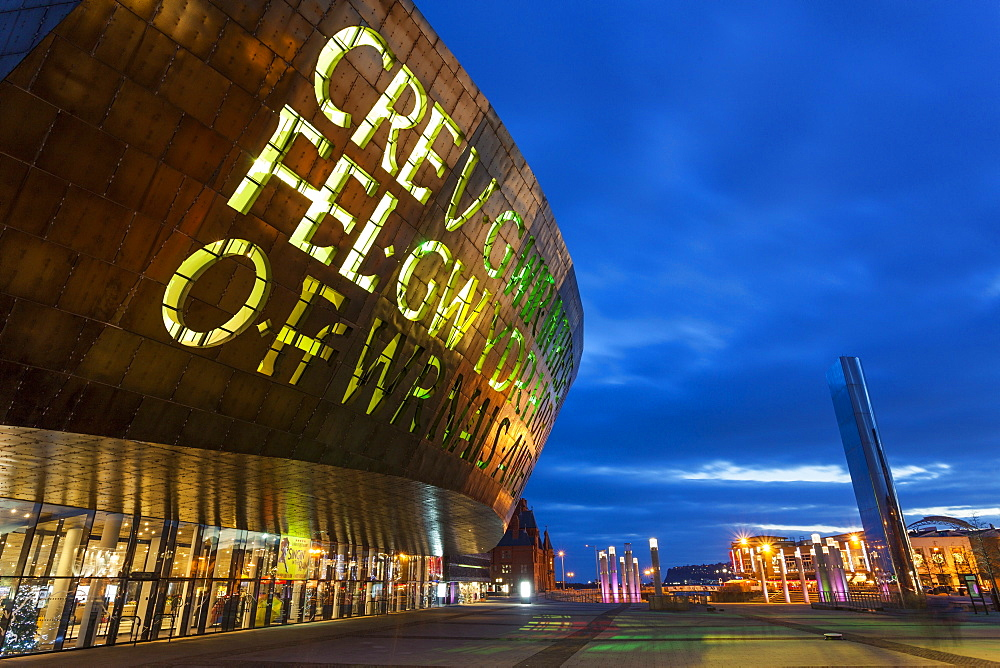 Millennium Centre, Cardiff Bay, Cardiff, Wales, United Kingdom, Europe