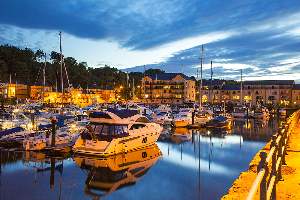 Penarth Habour, South Glamorgan, Wales, United Kingdom, Europe