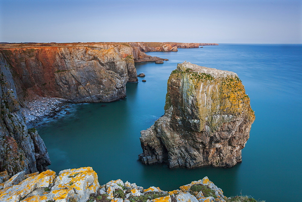 Stack Rocks, Castlemartin, Pembrokeshire, Wales, United Kingdom, Europe
