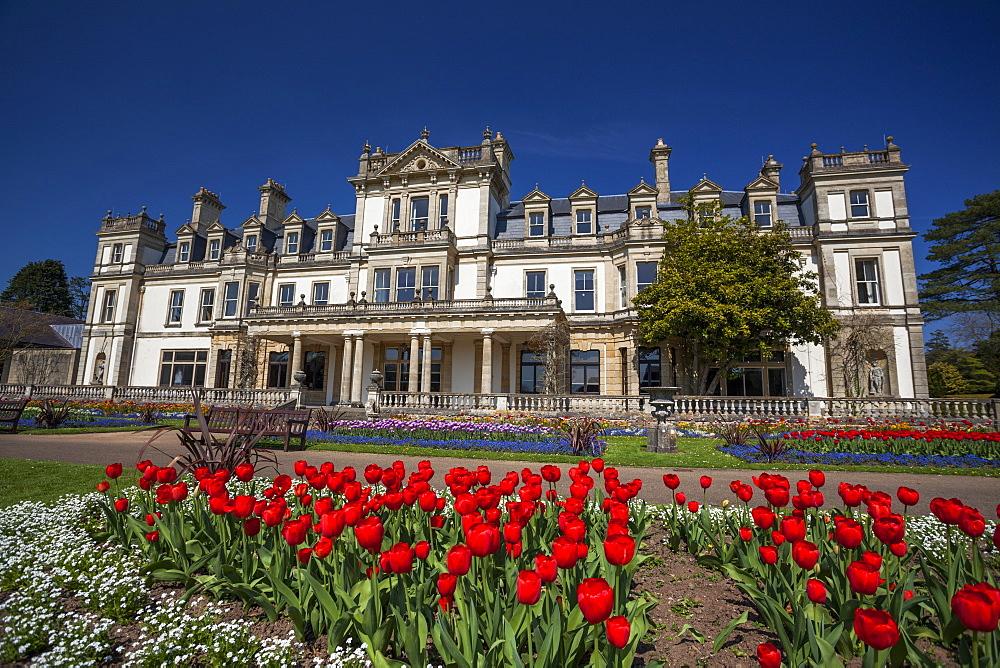 Dyffryn House, Dyffryn Gardens, Vale of Glamorgan, Wales, United Kingdom, Europe - 696-768