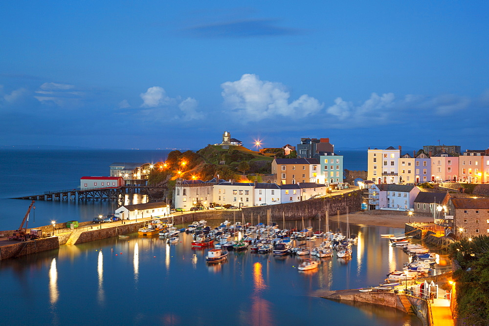 Tenby, Pembrokeshire, Wales, United Kingdom, Europe - 696-805