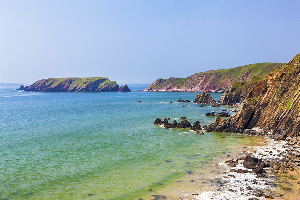 Marloes Sands, Pembrokeshire, Wales, United Kingdom, Europe - 696-821