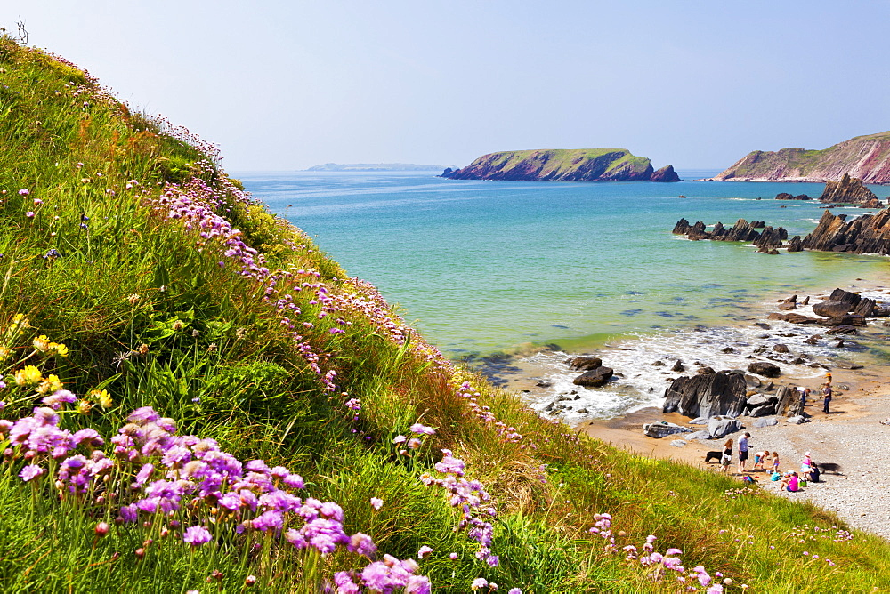 Marloes Sands, Pembrokeshire, Wales, United Kingdom, Europe - 696-822