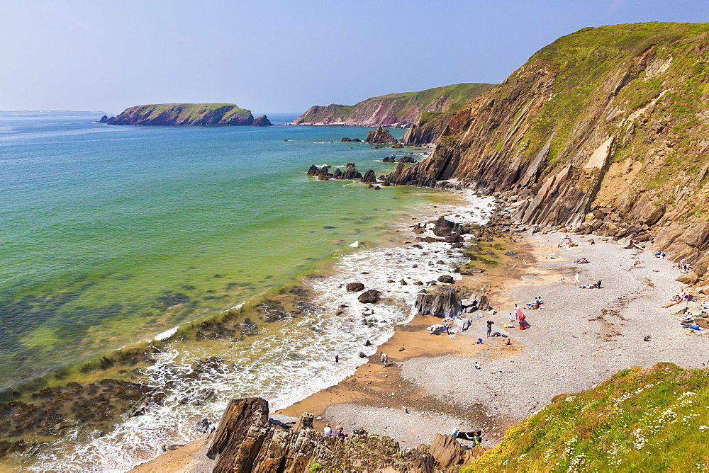 Marloes Sands, Pembrokeshire, Wales, United Kingdom, Europe - 696-823
