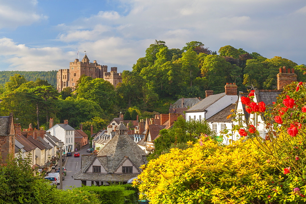 Dunster Castle, Somerset, England, United Kingdom, Europe - 696-882