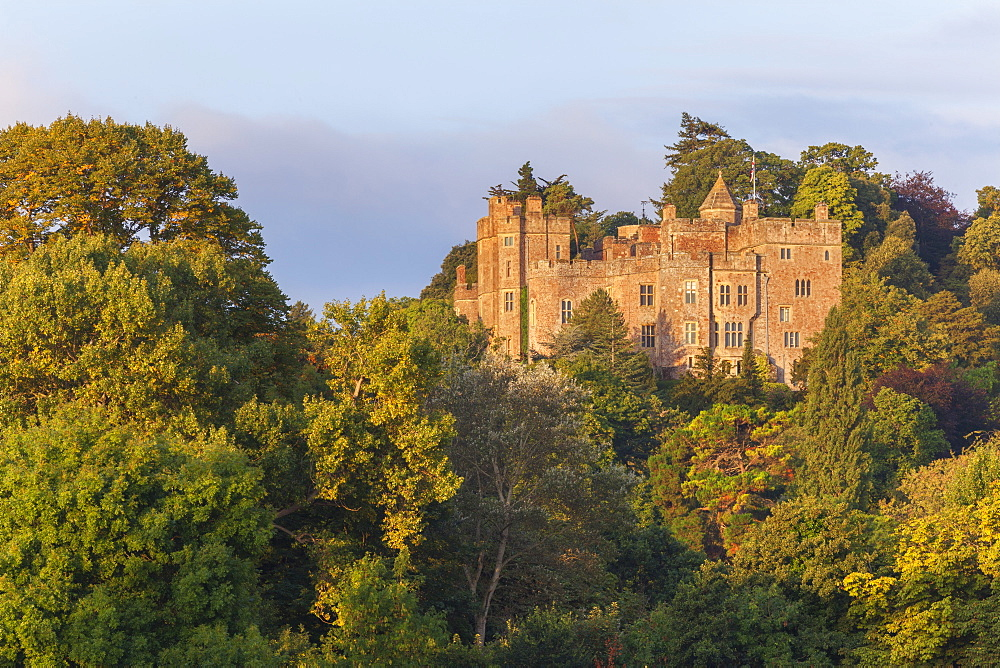 Dunster Castle, Somerset, England, United Kingdom, Europe