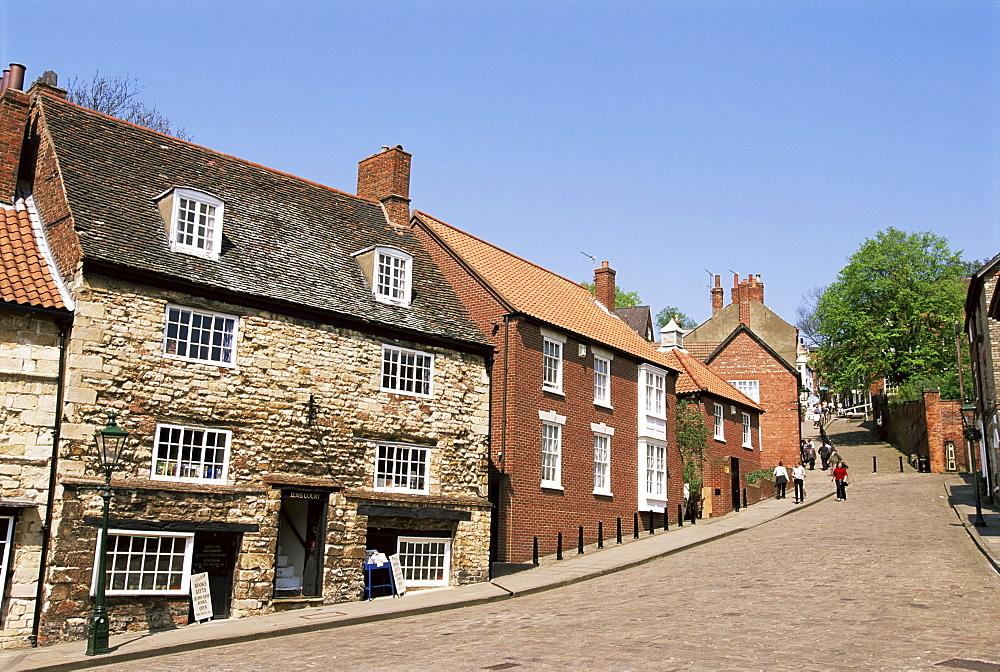 Jews Court, Steep Hill, Lincoln, Lincolnshire, England, United Kingdom, Europe