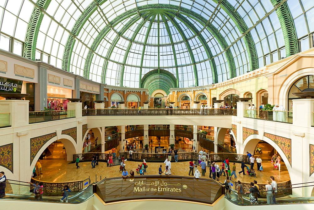 Mall of the Emirates interior, Dubai, United Arab Emirates, Middle East