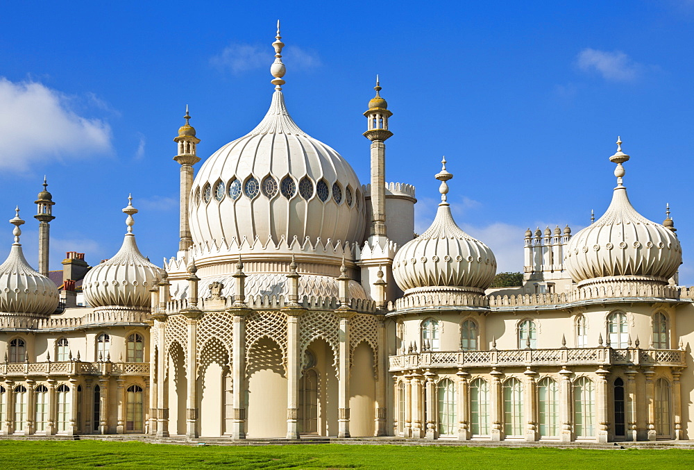 Brighton Royal Pavilion, Brighton, East Sussex, England, United Kingdom, Europe