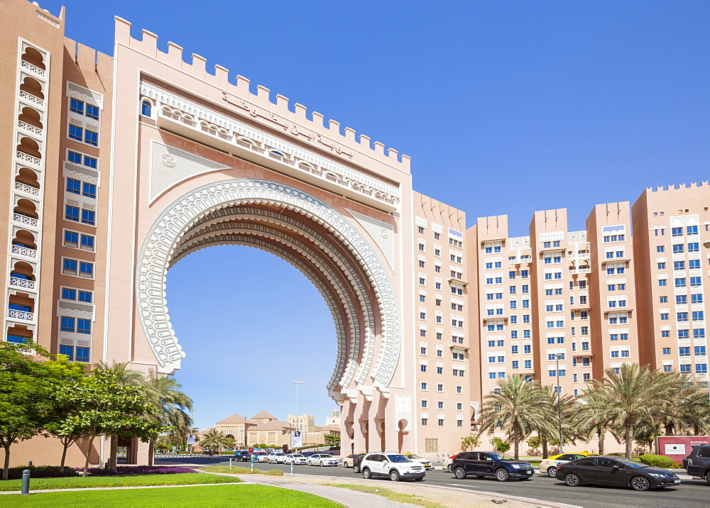 Ibn Battuta Gate, entance to the Ibn Battuta Mall, Dubai City, United Arab Emirates, Middle East
