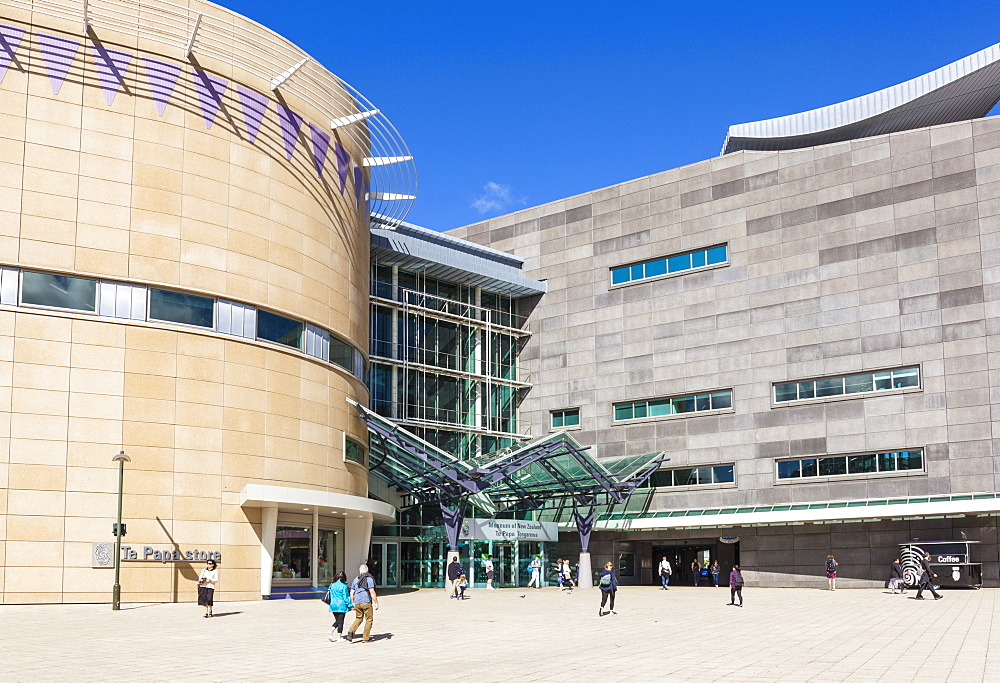 Museum of New Zealand, Te Papa Tongarewa National Museum and Art Gallery, Wellington, North Island, New Zealand, Pacific - 698-3331
