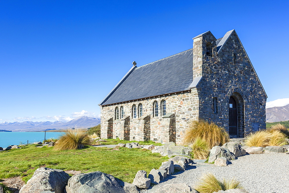 The Church of the Good Shepherd, by Lake Tekapo, South Island, New Zealand, Pacific - 698-3339