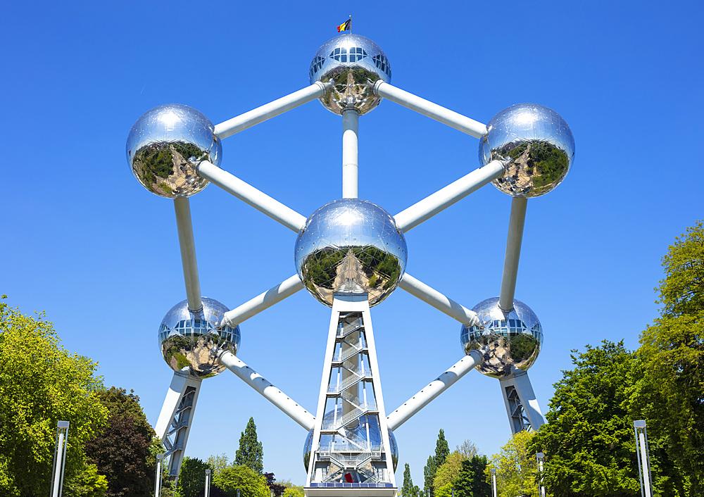 Brussels Atomium, Square de l'Atomium, Boulevard de Centaire, Brussels, Belgium, Europe - 698-3396