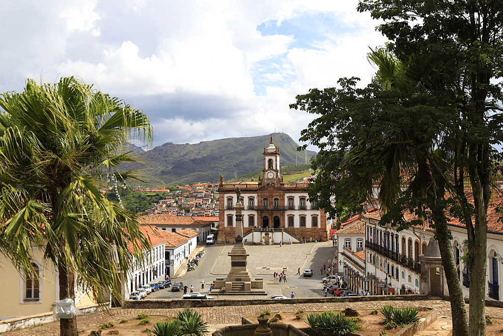 Historic town of Ouro Preto, UNESCO World Heritage Site, Minas Gerais, Brazil, South America - 700-13890