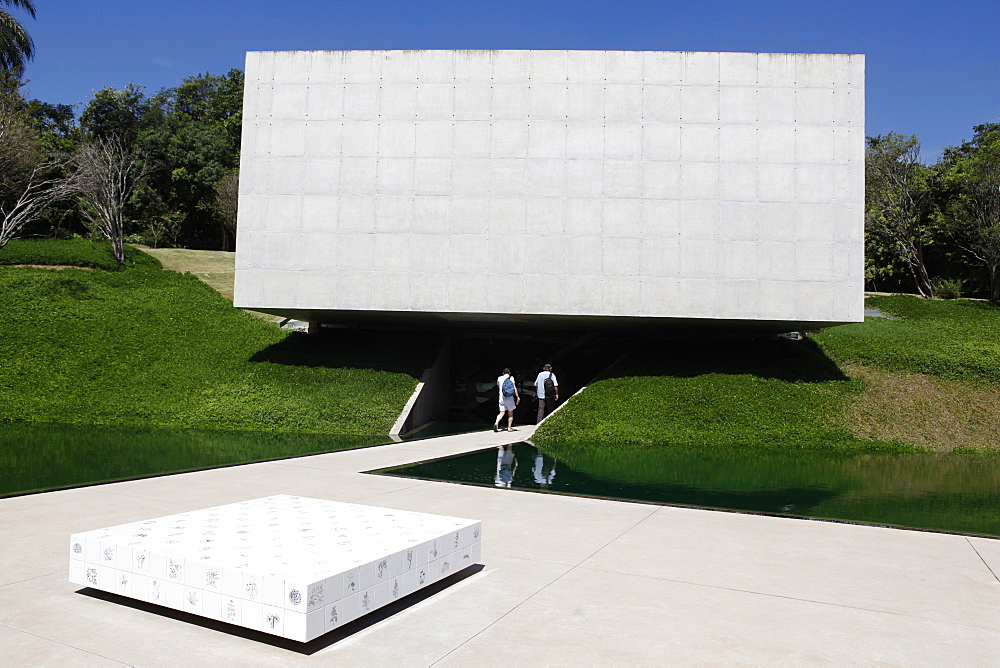 Centro de Arte Contemporanea Inhotim, contemporary artwork center owned and created in 2006 in a large park by Bernardo Paz, Brumadinho, Minas Gerais, Brazil, South America - 700-13902
