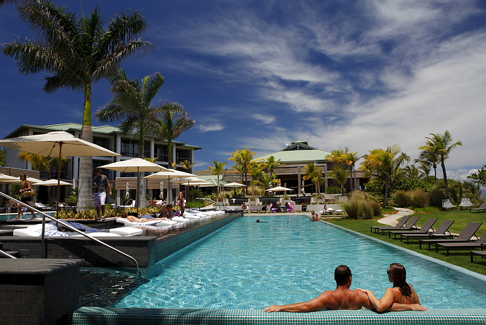 Luxury hotel and resort W, Vieques island, Puerto Rico, West Indies, Caribbean, Central America - 700-13919