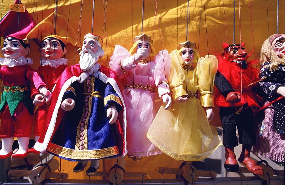 Puppets, Prague